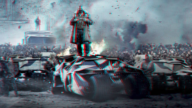 Bane 3-D conversion (improved version) by MVRamsey