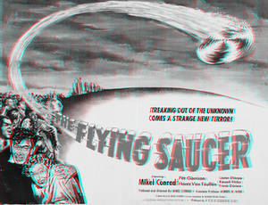 The Flying Saucer 3-D conversion