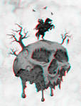 Solomon Kane poster 3-D conversion