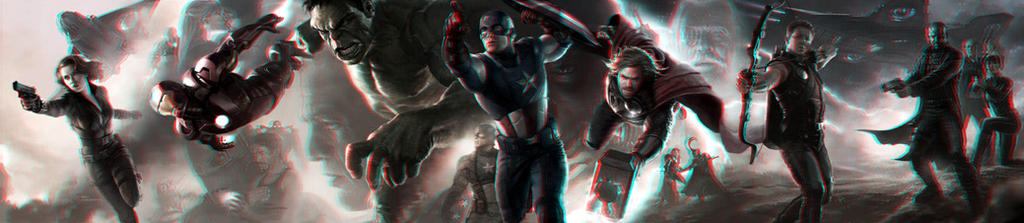 Avengers 3-D conversion by MVRamsey