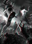 Zombie Stomp 3-D conversion