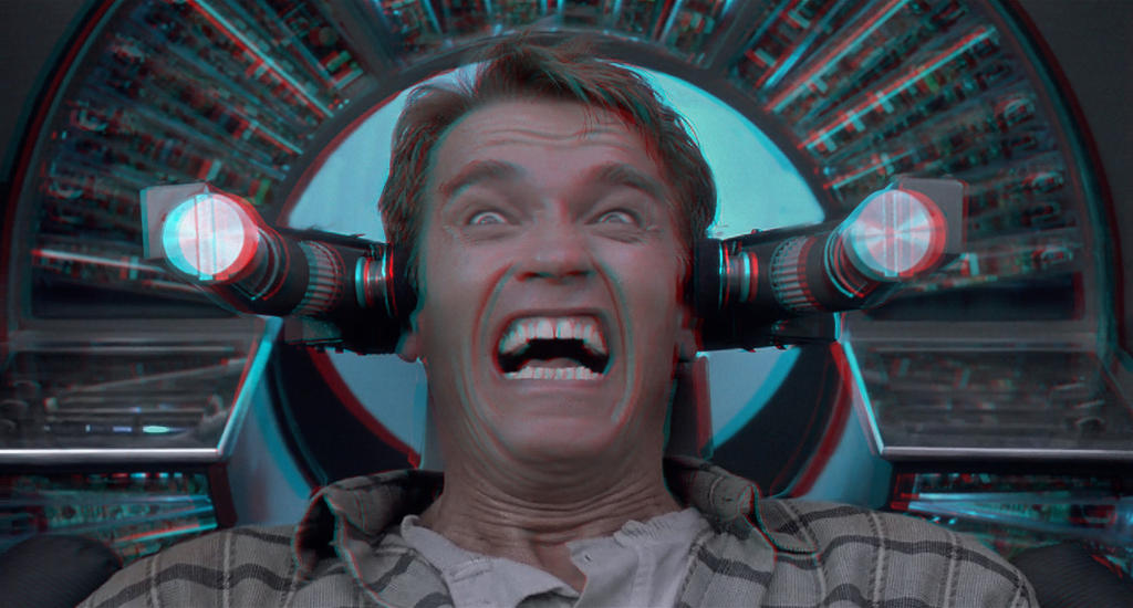 Total Recall 3-D conversion by MVRamsey