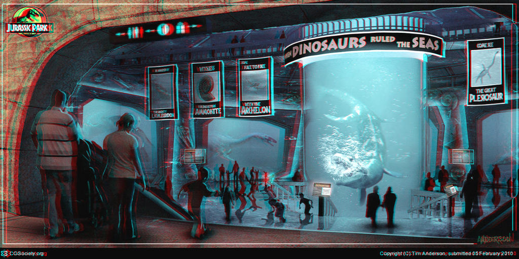 When Dinosaurs Ruled the Seas 3-D conversion by MVRamsey