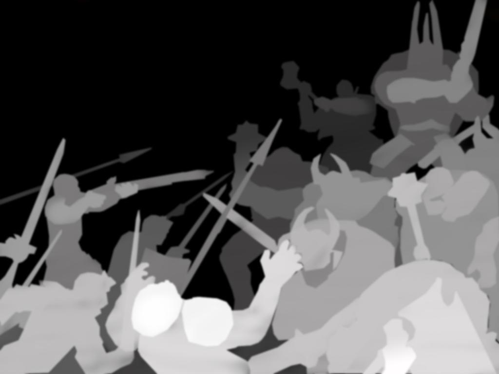 Warhammer Chaos depth map by MVRamsey