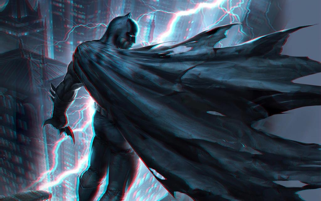 The Dark Knight Returns 3-D conversion by MVRamsey