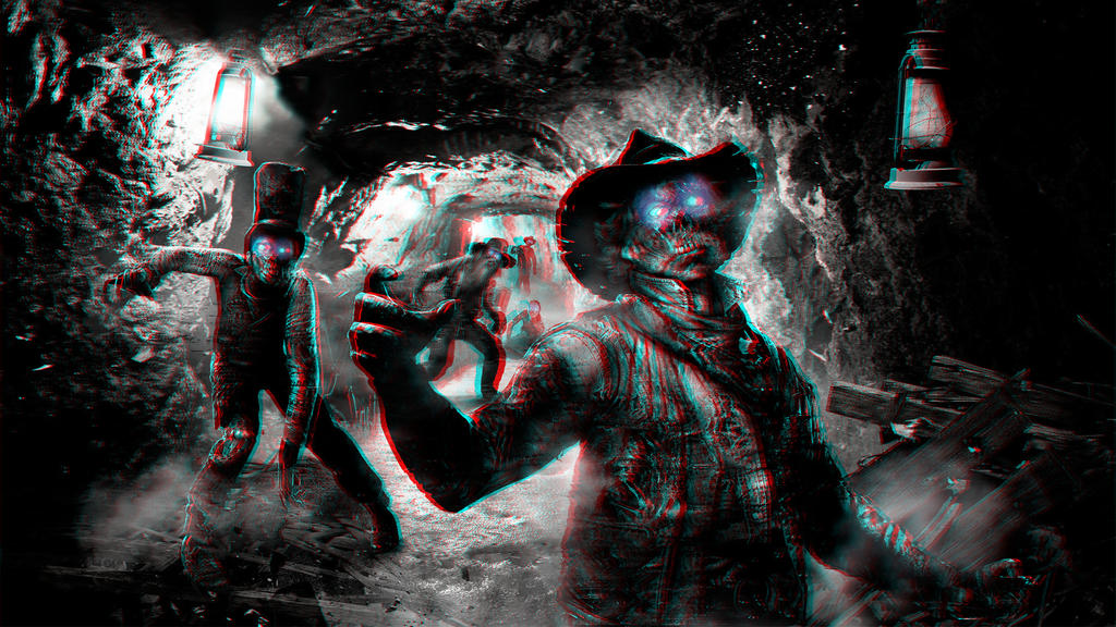 Goldmine Zombies 3-D conversion by MVRamsey