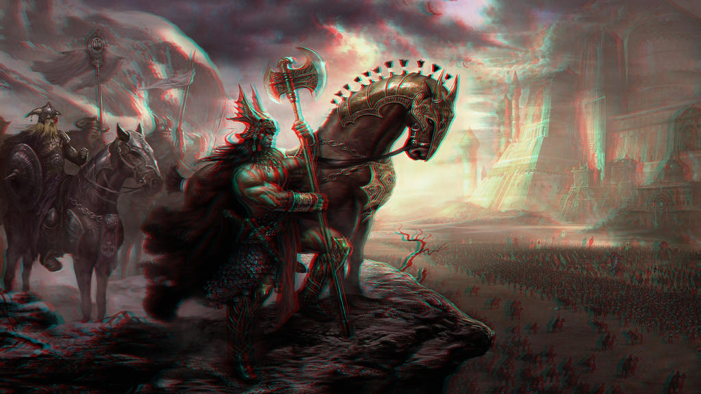 Age of Conan 3-D conversion by MVRamsey