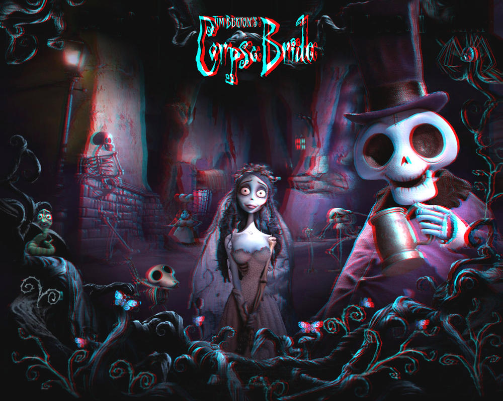 The Corpse Bride 3-D conversion by MVRamsey
