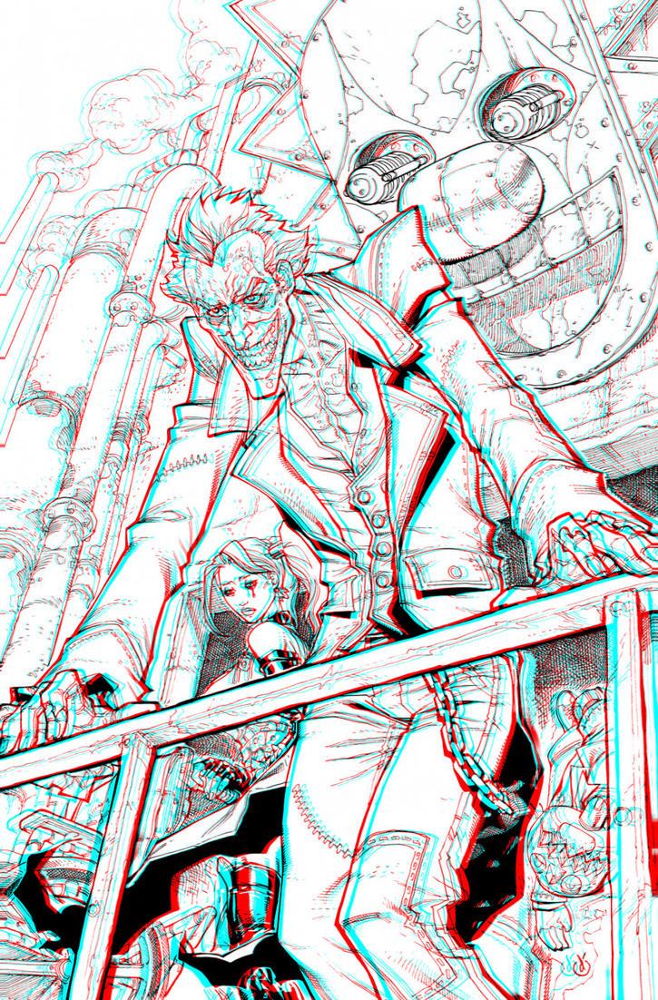 Joker 3-D conversion by MVRamsey