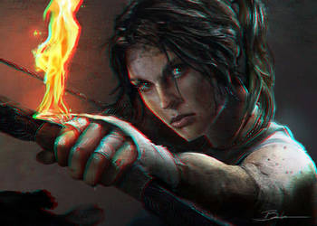 Lara 3-D conversion by MVRamsey