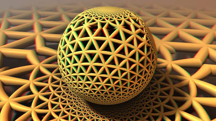 Fractal Sphere 3-D conversion by MVRamsey