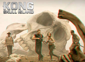 Kong Skull Island 3-D conversion by MVRamsey