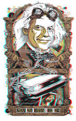 Doc Brown 3-D conversion by MVRamsey