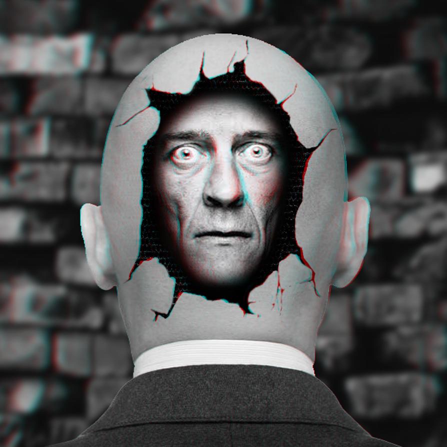 Mr. Head Head 3-D conversion by MVRamsey