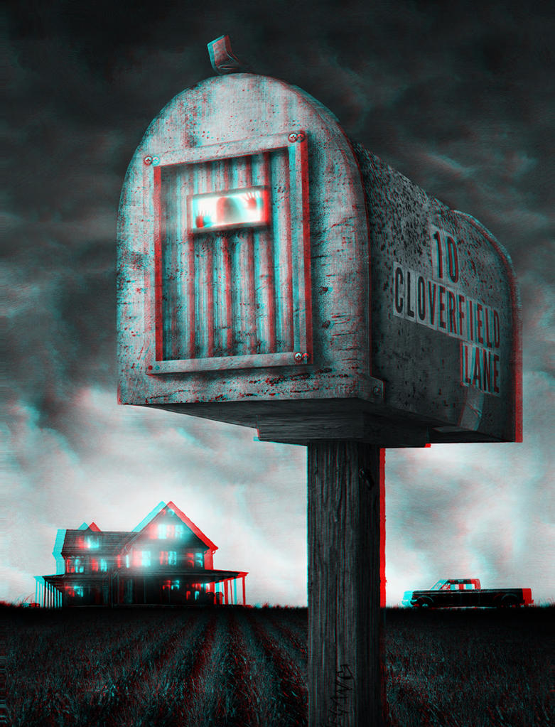 Mailbox 3-D conversion by MVRamsey