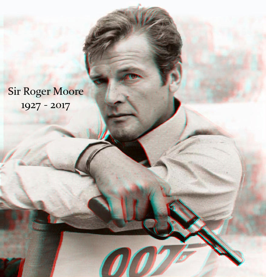 Roger Moore 3-D conversion tribute by MVRamsey