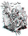 Rising Zombie 3-D conversion