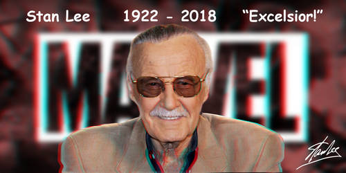 Stan Lee 3-D Tribute