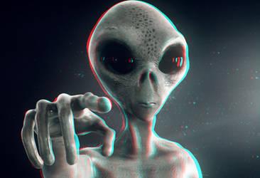 Alien 3-D conversion