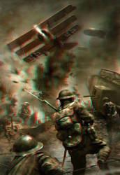 WW1 Battle 3D conversion