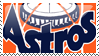 Houston Astros Stamp 12 by JayJaxon
