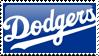LA Dodgers Stamp 1 by JayJaxon