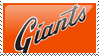 San Francisco Giants Stamp 3 by JayJaxon