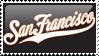 San Francisco Giants Stamp 4 by JayJaxon
