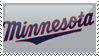 Minnesota Twins Stamp 1 by JayJaxon