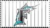 Florida Marlins Stamp 4 by JayJaxon