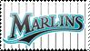 Florida Marlins Stamp 5 by JayJaxon