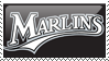 Florida Marlins Stamp 8 by JayJaxon