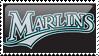 Florida Marlins Stamp 9 by JayJaxon