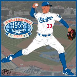 Los Angeles Dodgers 2010 by JayJaxon