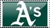 Oakland Athletics Stamp 4 by JayJaxon