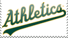 Oakland Athletics Stamp 7 by JayJaxon