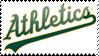 Oakland Athletics Stamp 7 by JayJaxon