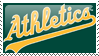 Oakland Athletics Stamp 10 by JayJaxon