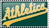Oakland Athletics Stamp 10 by JayJaxon