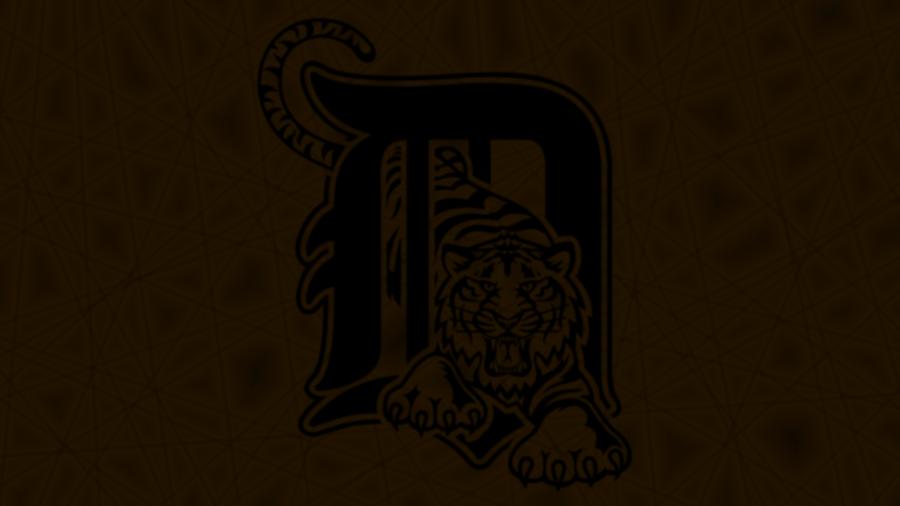 detroit tigers wallpaper. Detroit Tigers Logo Wallpaper