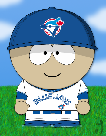 South park blue jays baseball by jayjaxon