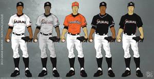 Miami Marlins 2012 Uniforms by JayJaxon