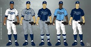 Tampa Bay Rays 2012 Uniforms by JayJaxon