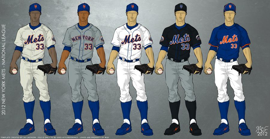 New York Mets 2012 Uniforms by JayJaxon on DeviantArt