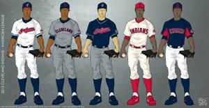 Cleveland Indians 2012 Uniforms