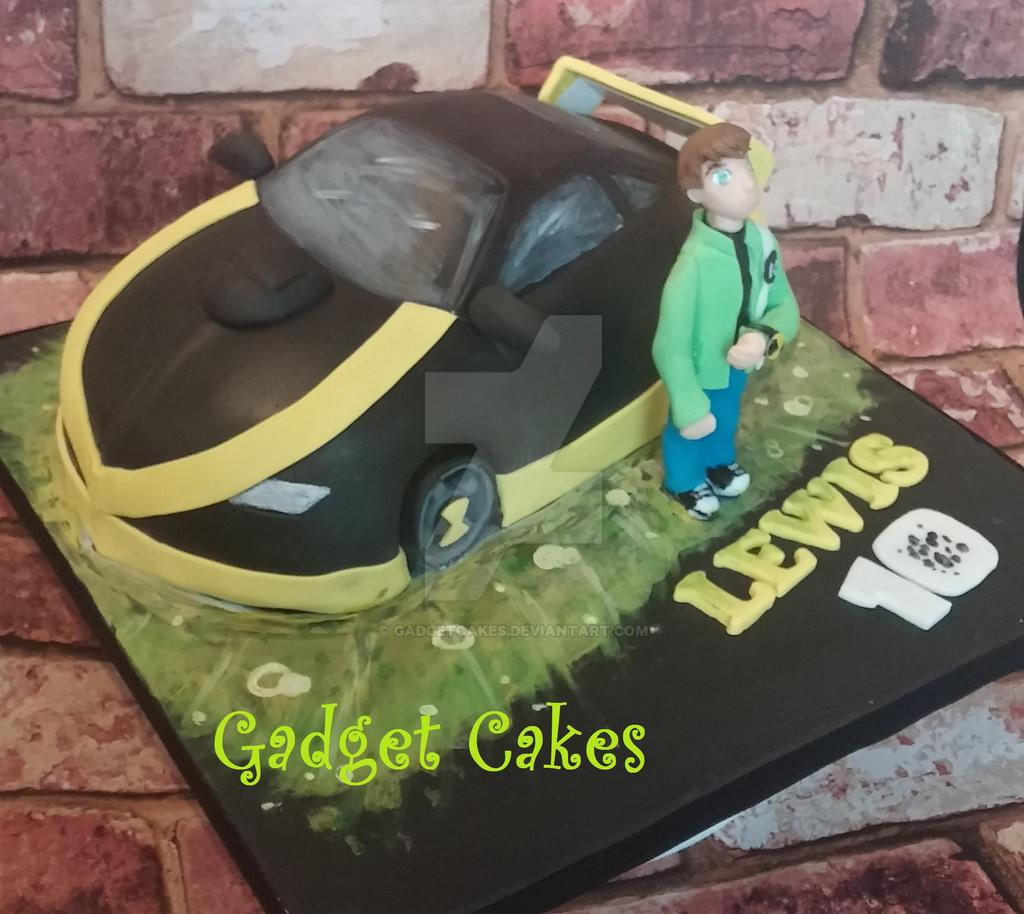 Ben 10 Alien Car Cake By Gadgetcakes On DeviantArt