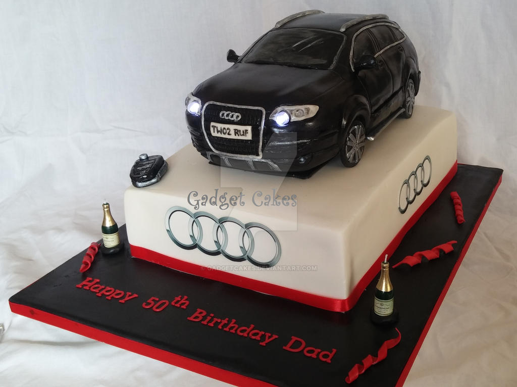 Audi Q7 Car Cake by gadgetcakes on DeviantArt