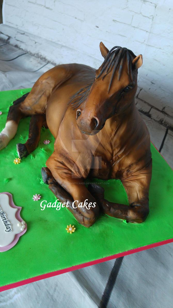 Horse Head Cake Tin