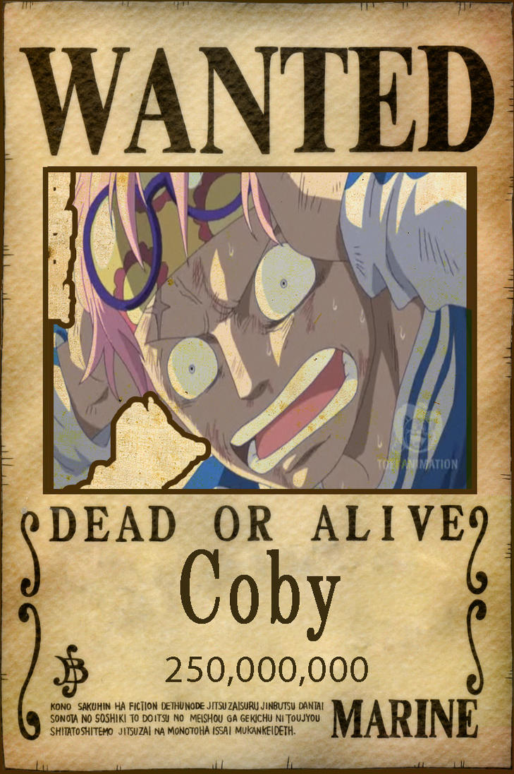 one piece wanted poster by kiro101 on DeviantArt