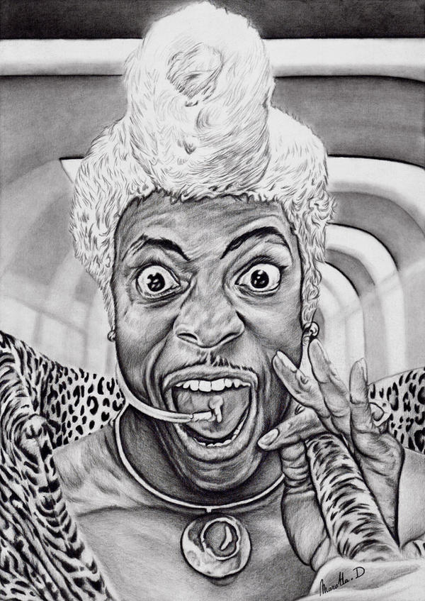 Chris Tucker as Ruby Rhod by Cleitus